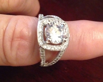 Engagement Rings / Wedding Rings / Multistone Rings / Artisan Rings / Ring size 6.5 / New Jewelry / Artisan Jewelry (Item#ER307)