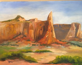 Zion Oil Painting