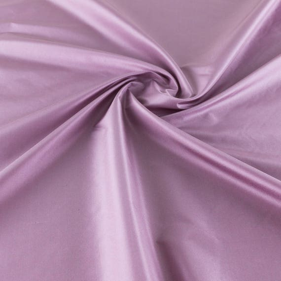 High quality taffetas fabric, lilac/white