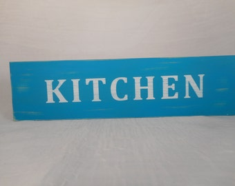 Distressed wooden kitchen sign / home decor