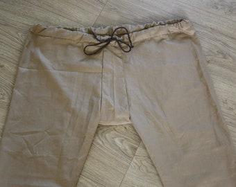 Thorsberg trousers linen - beige