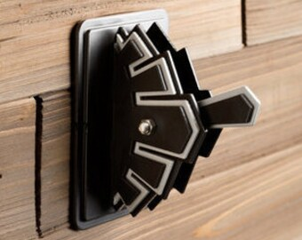 Art Deco Single Switch Plate