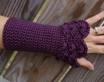 Crochet Pattern - Crochet Arm warmer Pattern - Fingerless Gloves Pattern PDF Instant Download