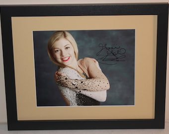 Gracie Gold Hand Signed Autograph 8x10 Framed and Matted To Final Size 12.5x15.5  American figure skater