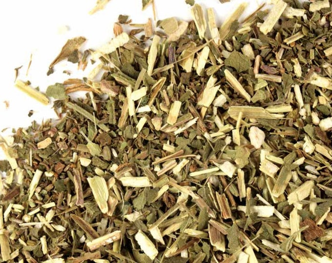 Blue Vervain wild crafted, cut and sifted    Verbena hastata L.   Dried Bulk Herb   1 oz bag