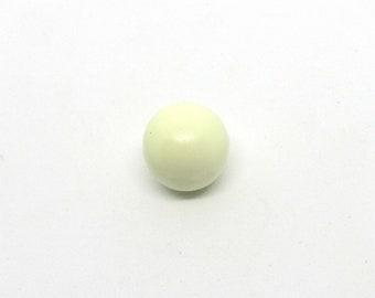 1 Light Yellow 14mm Angel Caller Harmony Bola Pendant Ball (B503h)