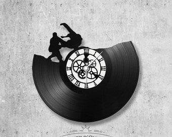 Vinyl 33 clock towers Judo theme