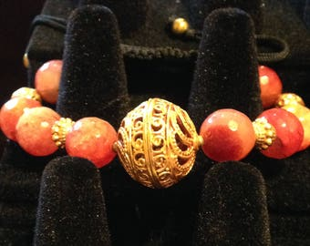 Fire Agate Princess Bracelet