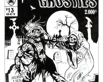 Zombies vs. Ghosties
