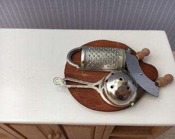 1/12 Scale Miniature Kitchen Accessories