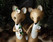 Coyote Wedding Cake Topper by Bonjour Poupette