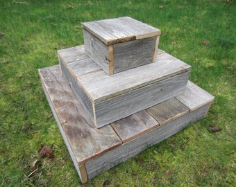 Rustic cupcake stand, tiered cupcake stand, cupcake stand tier, large cupcake stand, wood cupcake stand, rustic wedding decor, wedding cake