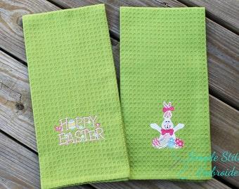 Easter Kitchen Tea Towel