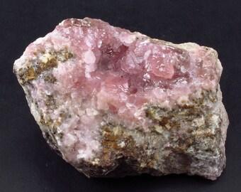 """Cobaltocalcite Cobalto Calcite Cluster From Morocco - 3.0"""""""