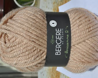 wool barisienne 12 color quartz color skin 10017 Bergère de france n ° 12