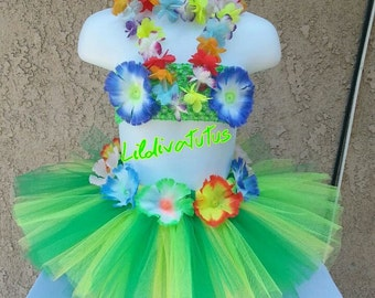 Hawaiian Luau Tutu Set