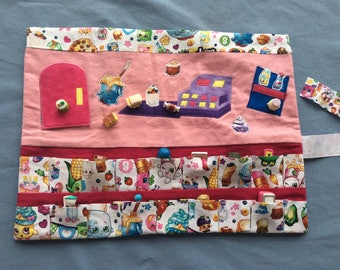 Shopkins Caddy Roll Up Play Mat