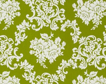 Free Spirit - Girls World Vibe Carrie by Jennifer Paganelli Damask in Grass PWJP058 by the Yard
