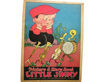 Little Jimmy Picture & Story Book