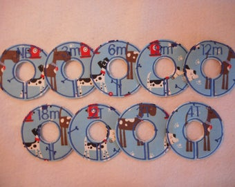 puppy dog closet divider set