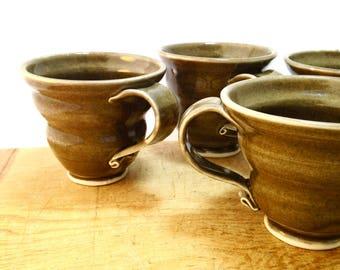 Tea Cups Set of Four, 8 Ounce