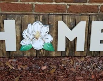 Magnolia Home Sign