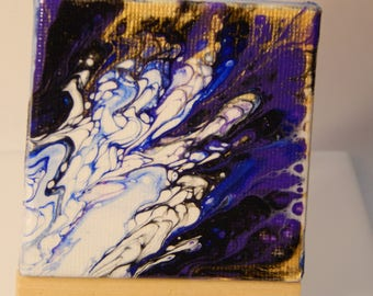 Mini Poured Painting 013