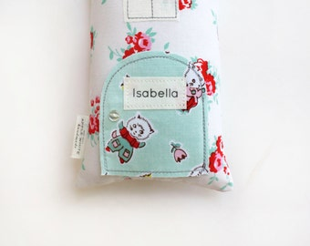 Personalized Tooth Fairy Pillow, Tooth Faiy, Tooth Fairy Door, Add Name, Customize, Apple White Tooth Fairy Pillow, Add a Name to Your Oder
