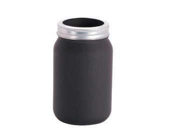 Chalkboard Mason Jar / Regular mouth pint