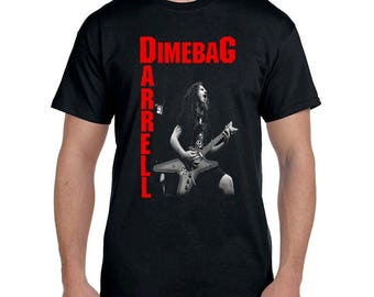 Dimebag darrell men t shirts different sizes guitar legend pantera