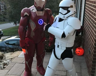 Kids size STAR WARS first order STORMTROOPER complete suit for cosplay