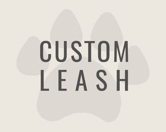 Custom Silly Buddy Leash