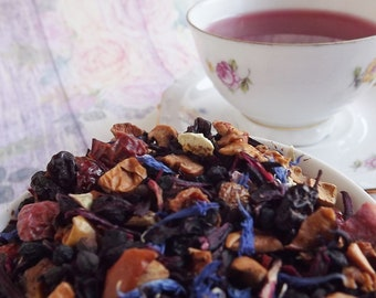 Merry Berry Herbal Tea, Kids Herbal Tea, Berry Herbal Tea, Children's Tea, Caffeine Free Herbal Tea