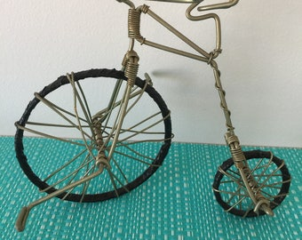Vintage bicycle figurine collectible 1990's, 90's, Art Deco