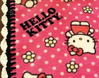Fleece Blanket (Hello Kitty - ready to ship!)
