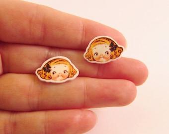 Dolly Dingle Girl Earrings