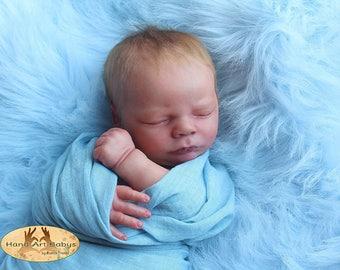 CUSTOM REBORN BABY ~ Charles Asleep By Realborn ~ 6 month layaway