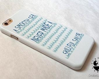 Quote Sea Sailor iPhone 8 Plus Case iPhone 8 case iPhone 7 case iPhone 7 Plus case  iPhone 6 case  iPhone 6s case iPhone 6 plus case Se Case