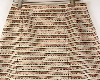 Vintage 1970's Young Pendleton Maxi A Line Long Wool Skirt Small