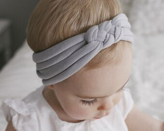 Light Gray : sailors knot headband