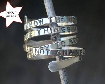 Serenity Prayer Ring exclusively by donnaodesigns