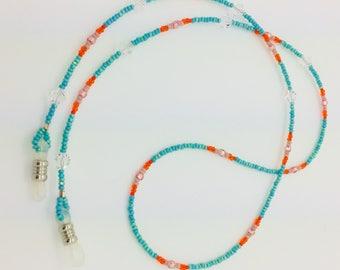 MIAMI Beaded eyeglass chain