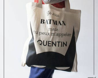 Customizable Tote Bag - Batman