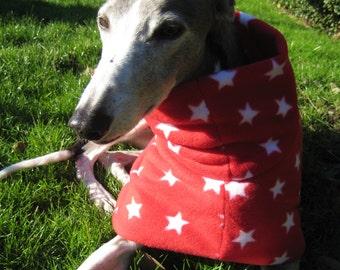 Greyhound Coat Fleece Lucky Star