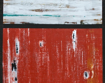 Original Encaustic Painting on Wooden Cradled Board by Colorado artist, Dianna Fritzler - Now On Sale!