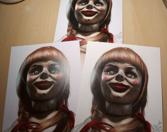 PRINT of Annabelle Drawing