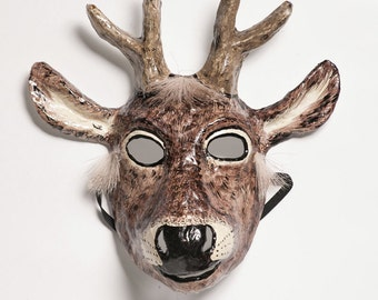 RESERVED FOR aainsley1's deer mask paper mask