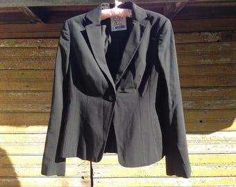MOSCHINO Cheap And Chic Vintage Women Blazer Black Wool