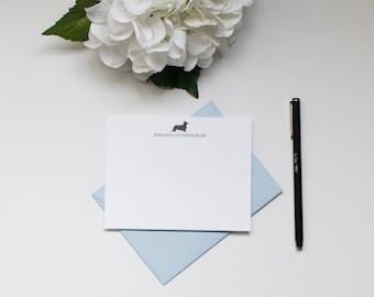 Personalized Stationery, Custom Stationery, Corgi Stationery, Dog Stationery