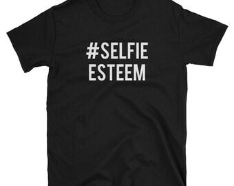 Selfie Esteem Short-Sleeve T-Shirt